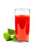 Сок томата изолированный на белизне на белизне Стоковые Фотографии RF