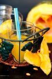 Сок тыквы стоковое фото rf