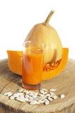 Сок тыквы vegetable стоковые изображения rf
