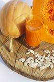 Сок тыквы vegetable стоковое фото rf