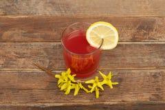 Сок цитруса питья Стоковое Изображение RF