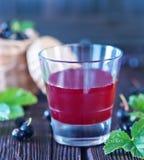 сок черной смородины стоковое изображение rf