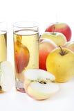 сок яблока свежий Стоковое Фото