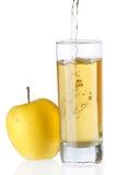 сок яблока свежий Стоковые Фото