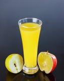 Сок, яблоко, лимон Стоковое Изображение