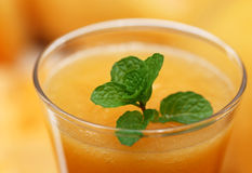 Сок melo или дыни огурца Стоковое Изображение