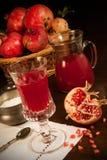 Сок Pomegranate Стоковая Фотография RF