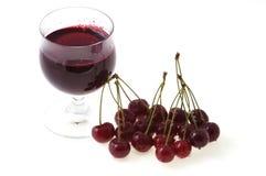 сок s вишни свежий Стоковая Фотография RF