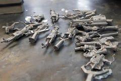 Солдаты олова под обрабатывать стоковые изображения rf