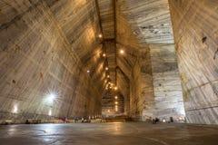 Солевой рудник Slanic Salina старый - Румыния Стоковое Изображение