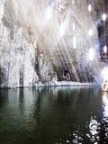 Солевой рудник Turda Salina Стоковое фото RF