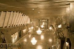 Солевой рудник Wieliczka Стоковые Фото