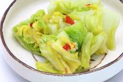 Соленья китайской капусты Стоковые Изображения