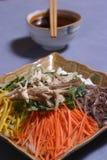 соленья тарелок vegetable Стоковые Фотографии RF