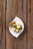 соленья feta сыра стоковое фото rf