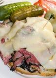 соленья reuben сандвич рожи Стоковое фото RF