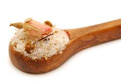 соли ванны розовые Стоковое фото RF