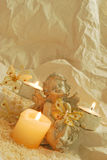 соли для принятия ванны Стоковая Фотография RF