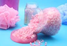 соли для принятия ванны стоковое изображение rf