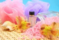 соли для принятия ванны стоковые изображения rf