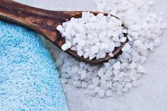 соли для принятия ванны Стоковое Изображение