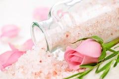 соли для принятия ванны Стоковые Фотографии RF