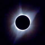 Солнечная корона Стоковое фото RF