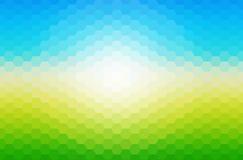 Солнечная предпосылка мозаики весны Стоковое Фото