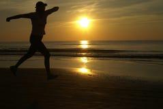 солнечная разминка Стоковое Фото