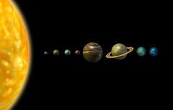 солнечная система Стоковые Изображения