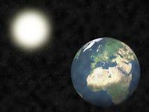 солнечная система Стоковое Изображение
