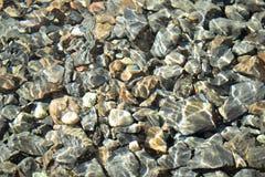 Солнечная текстура воды стоковое фото rf