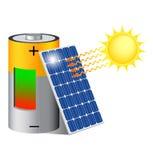 Солнечная энергия Иллюстрация вектора
