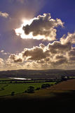 солнечний свет луча Стоковое Фото