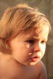 солнечний свет младенца драматический Стоковая Фотография