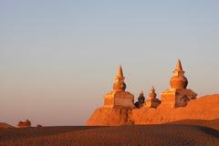 солнечний свет руины утра Стоковое Изображение
