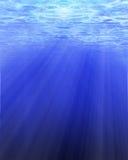 Солнечний свет через воду Стоковые Фотографии RF
