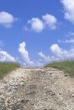 солнечное дороги дня сельское Стоковое Фото