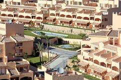 солнечное жилого квартала испанское Стоковая Фотография