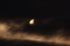 Солнечное затмение Стоковые Изображения RF