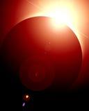 Солнечное затмение Стоковое Изображение