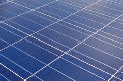 солнечное клеток поликристаллическое Стоковое Фото