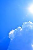 Солнечное небо Стоковая Фотография