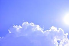 Солнечное небо Стоковые Изображения RF