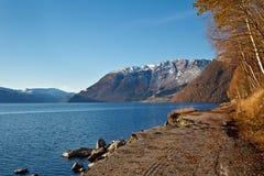 Солнечное Норвегия Стоковое фото RF