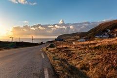 Солнечное Норвегия Стоковая Фотография RF