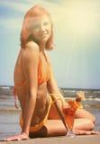 Солнечное питье Стоковое фото RF