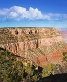Солнечное после полудня на гранд-каньоне Стоковые Изображения RF