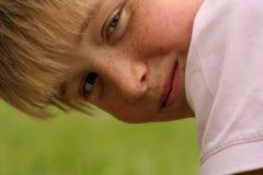 солнечность мальчика Стоковые Изображения RF