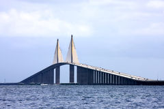 солнечность моста skyway Стоковые Фотографии RF